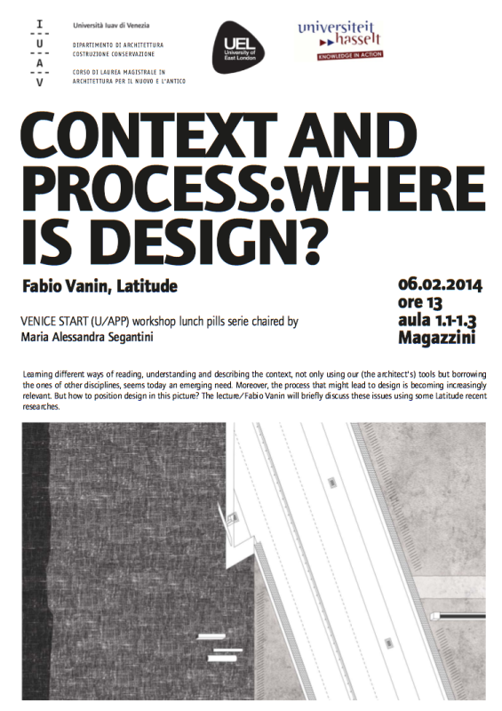 context and process: where is design?